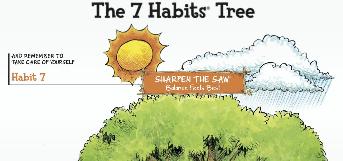 Habit 7: Sharpen the Saw - The 7 Habits for Parents